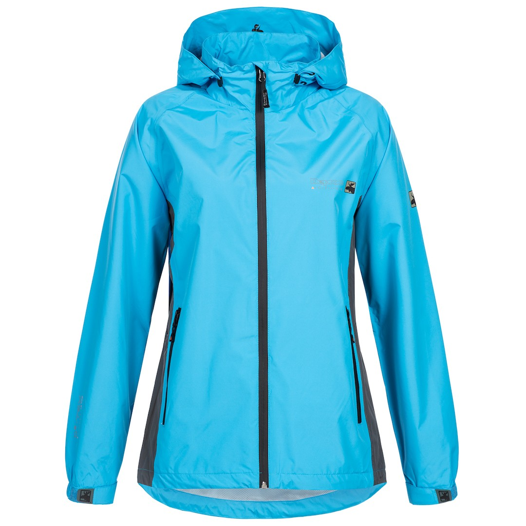 Regenjacke & Outdoorjacke Damen DEPROC NEW CAYLEY WOMEN 2,5 Layer