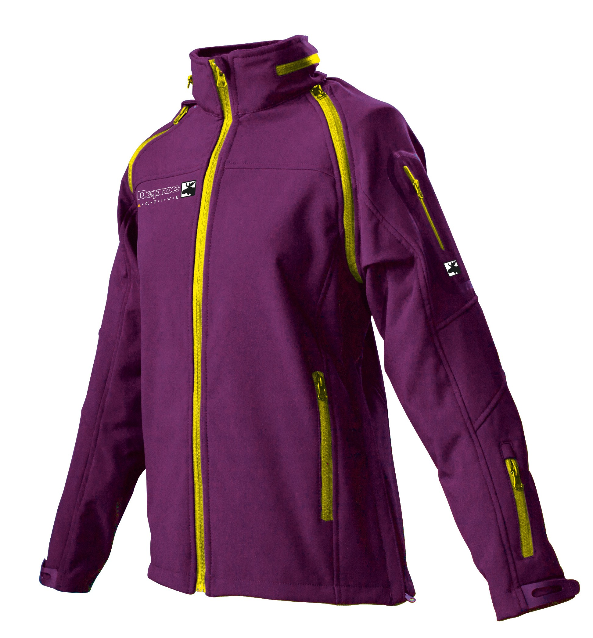 DEPROC 2 in 1 Softshelljacke Damen STANLEY PEAK Lady