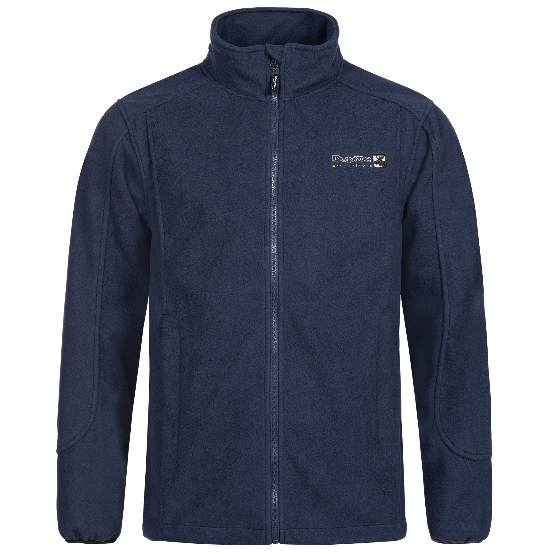 Fleecejacke Herren DEPROC ACTIVE WHITELAKE MEN navy front
