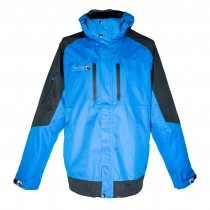 Outdoor Jacke Herren DEPROC WALKWORTH MEN front blue