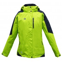 Outdoor Jacke Damen DEPROC WALKWORTH Lady lime