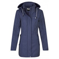 Softshellmantel Damen DEPROC TWIN PEAK DOTS Women